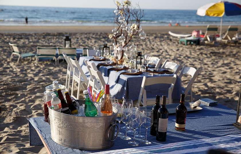 Plan Your Beach Party Cookouts at La Jolla Beach And Tennis Club, California