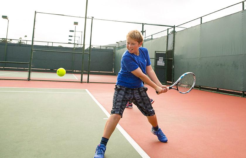 Junior Tennis Lessons at La Jolla Beach And Tennis Club, California