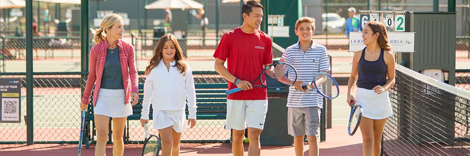 Our Staff at La Jolla Beach And Tennis Club, California