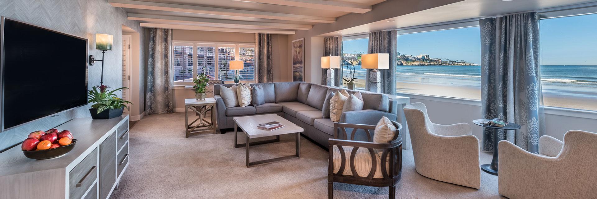 Rooms Suites at La Jolla Beach And Tennis Club, California
