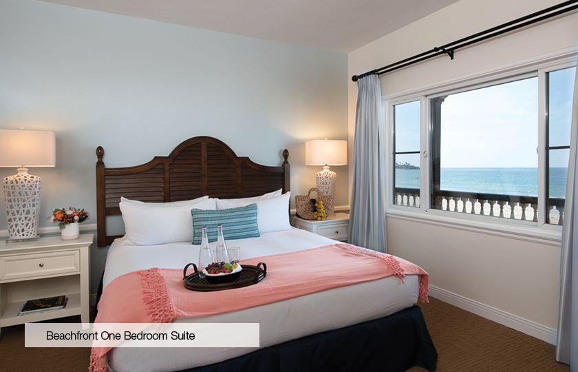 Beachfront Suite at La Jolla Beach And Tennis Club, California